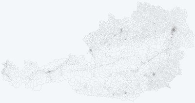 Digital maps - Census Districts